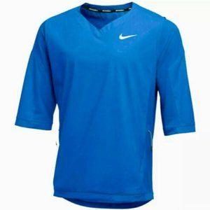 Nike Baseball Pullover 3/4 Sleeve Hot Jacket  NWT